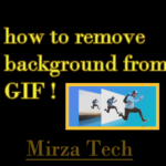 to remove background from gif and make it transparent