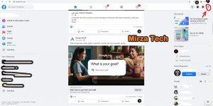 facebook dark mode web
