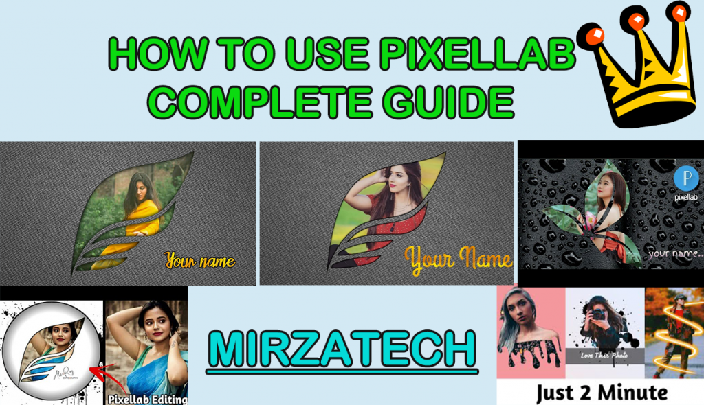 How to use pixellab