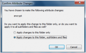 lock a folder in windows 7 without any software